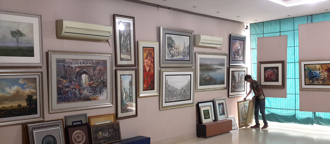 Oyster Art Gallery || Art Galleries in Pakistan || Art Galleries in Lahore